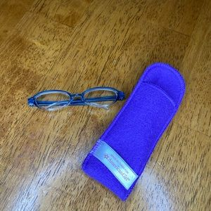American Girl Doll Eye Glasses With Soft Case